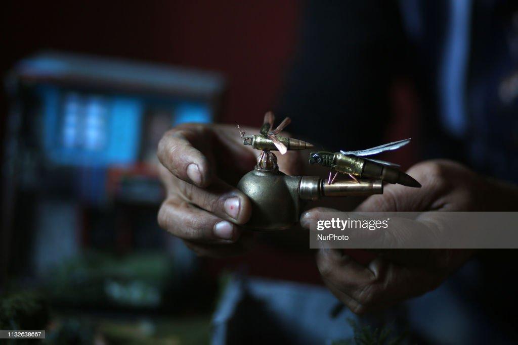 GZA: Palestinian Diorama Artist Majdi Abu Taqeya
