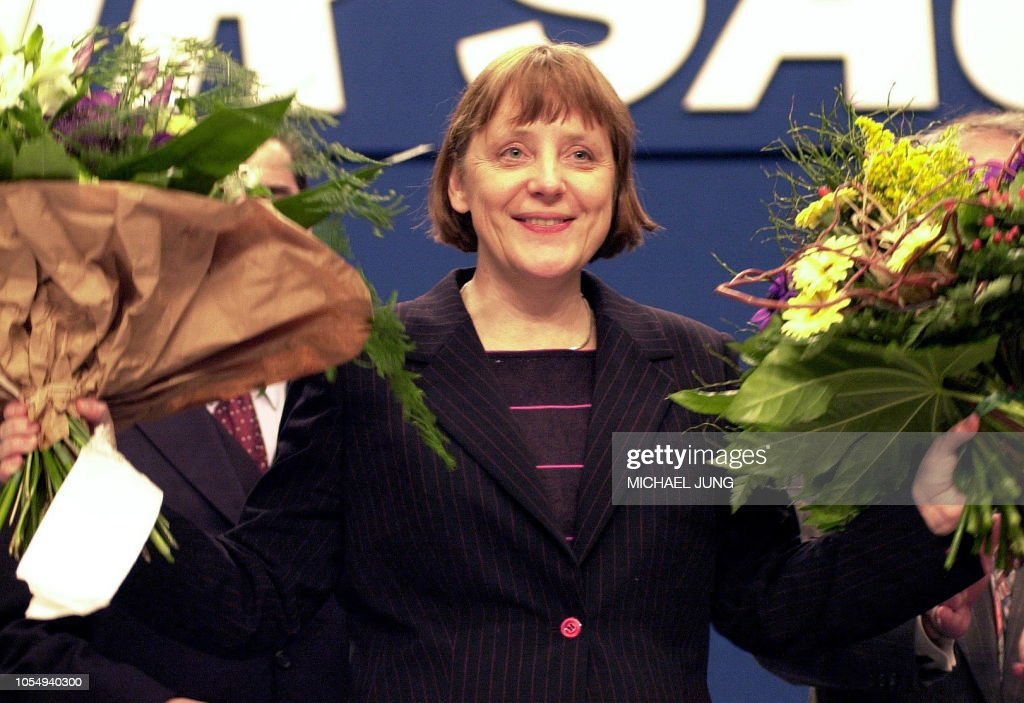 GERMANY-POLITICS-MERKEL-CDU : News Photo