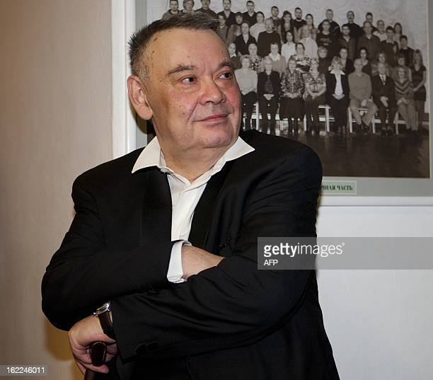 A picture taken on April 1 shows Russian film director and screenwriter Aleksei German in Moscow German a famed Soviet film director whose movies...