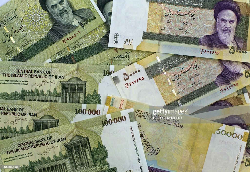 IRAN-ECONOMY-MONEY-RIAL : News Photo