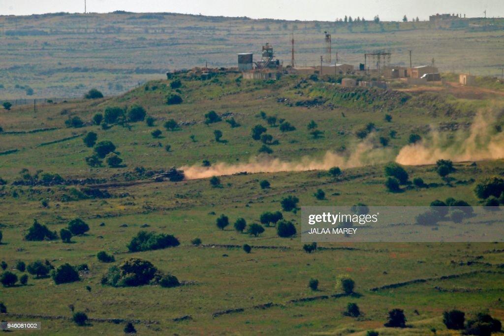 ISRAEL-SYRIA-GOLAN-HEIGHTS : News Photo
