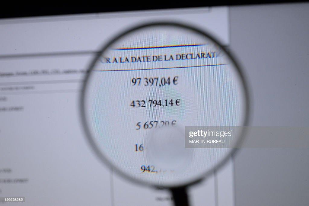 FRANCE-POLITICS-MINISTERS-TAX-SOCIETY : News Photo