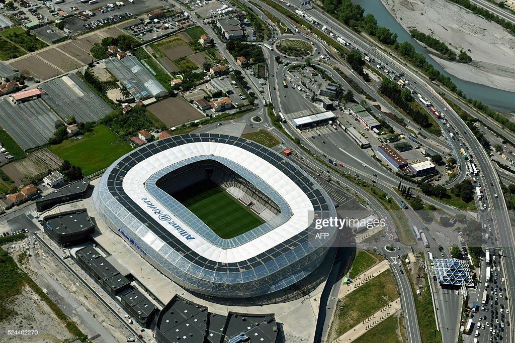 FBL-EURO-2016-STADIUM-AERIAL-NICE : News Photo