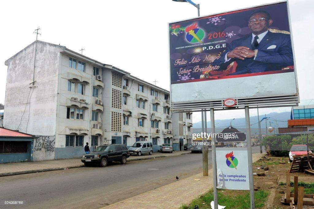 EGUINEA-POLITICS-VOTE-DAILYLIFE : News Photo