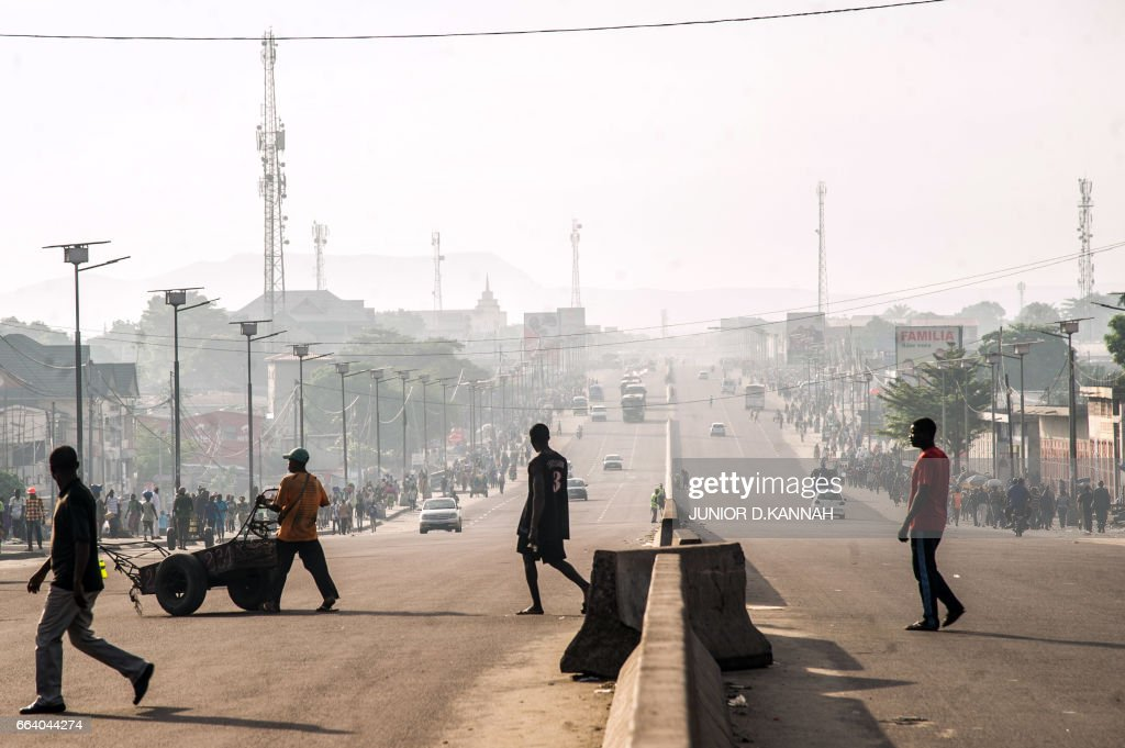 DRCONGO-POLITICS-PROTEST : News Photo