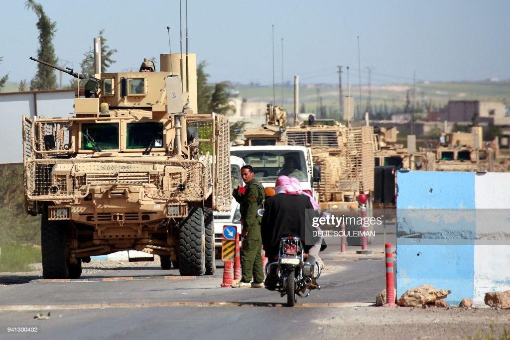 SYRIA-TURKEY-US-CONFLICT-MANBIJ : News Photo