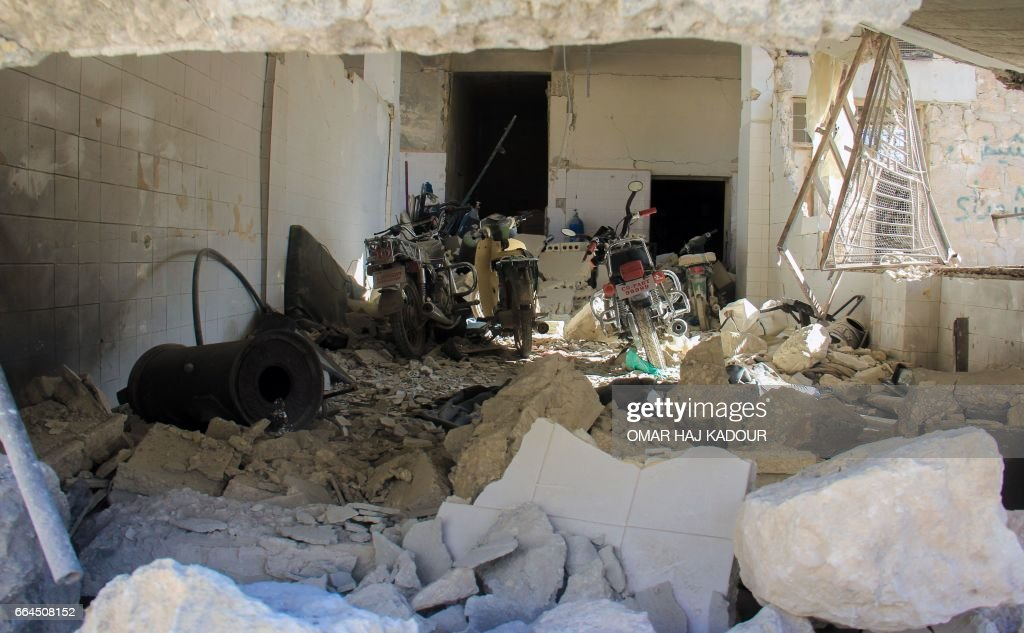 SYRIA-CONFLICT-GAS : News Photo