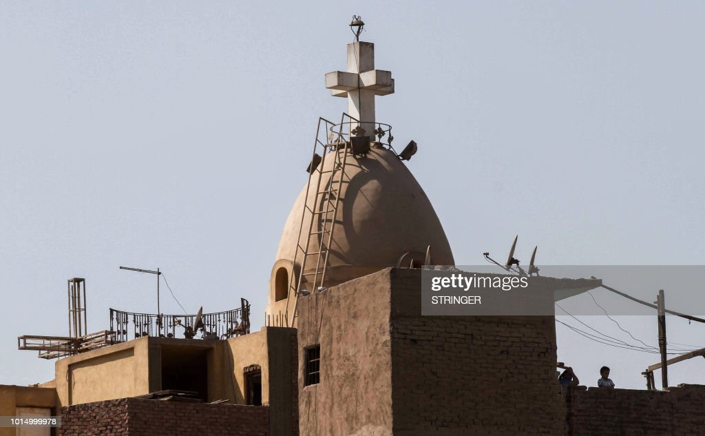 EGYPT-UNREST-CHURCH-ATTACK : News Photo