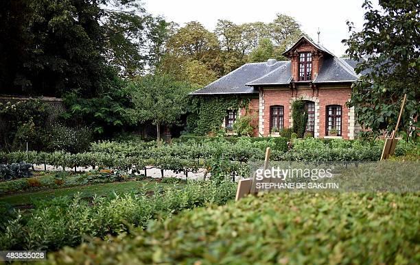 A picture taken on August 13 2015 shows a cottage at the Parc de Bagatelle in the Bois de Boulogne in Paris AFP PHOTO / STEPHANE DE SAKUTIN