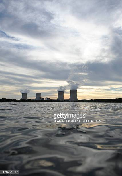 Picture taken on August 17 2013 shows the Cattenom nuclear power plant in Cattenom northeastern France Tens of cubic meters of hydrochloric acid...