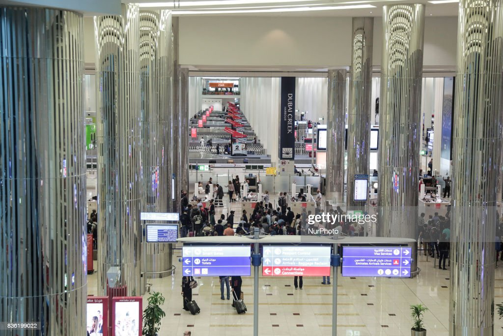 Dubai International Airport : News Photo