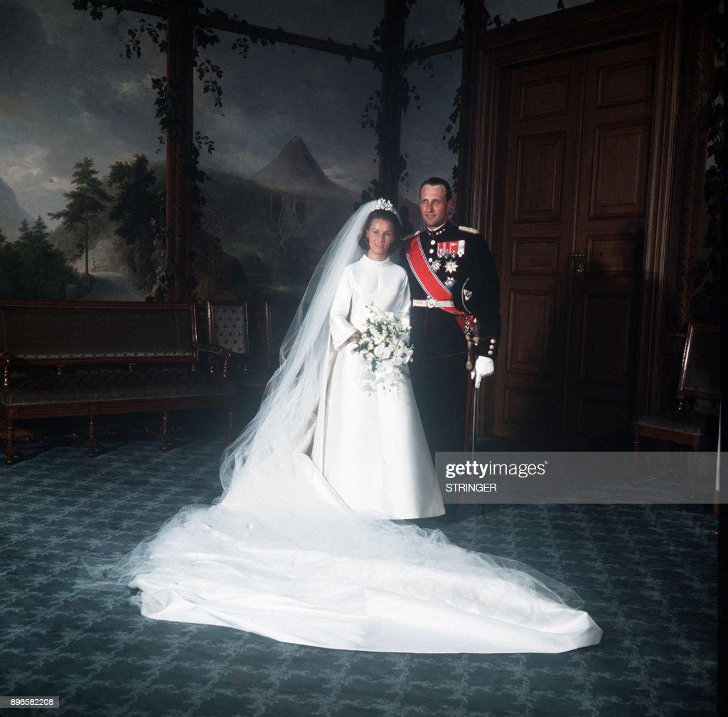 NORWAY-ROYALS-WEDDING : News Photo