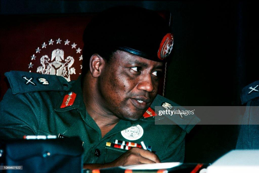 NIGERIA-POLITICS-BABANGIDA : News Photo