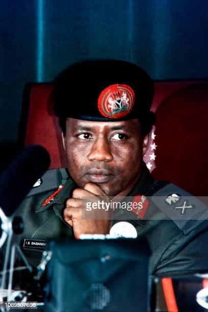 Picture taken on August 29, 1985 shows President of Nigeria Ibrahim Babangida.