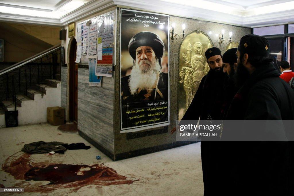 EGYPT-UNREST-CHURCH-ATTACK : News Photo