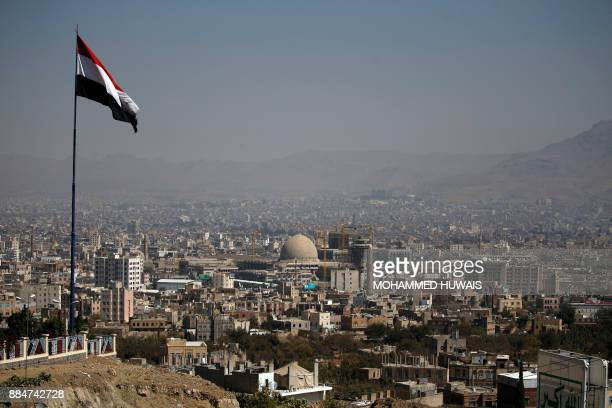 A picture taken on December 3 shows a general view of the Yemeni capital Sanaa / AFP PHOTO / Mohammed HUWAIS