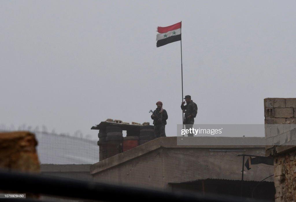 SYRIA-CONFLICT-KURDS : News Photo