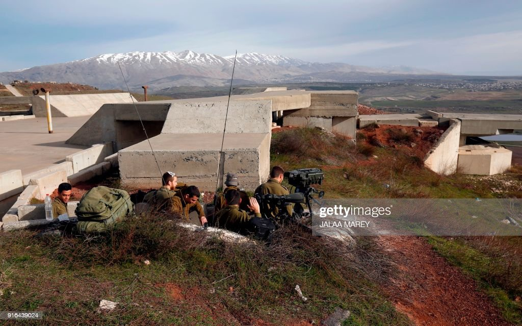 ISRAEL-GOLAN-SYRIA-CONFLICT : News Photo