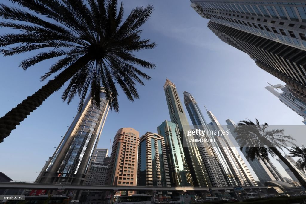 TOPSHOT-UAE-DUBAI-HOTELS-TOURISM : News Photo