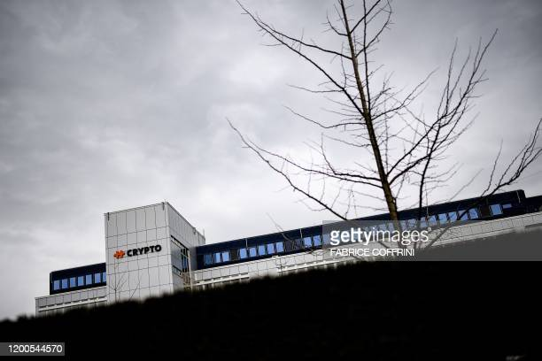 A picture taken on February 13 2020 shows Swiss encryption company Crypto AG headquaters in Steinhausen near Zug Outraged commentators warned that...