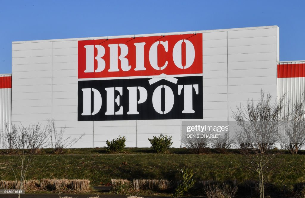 Beautiful Awesome A Picture Taken On February In Northern France Shows An Outside  View Of Brico Depot Store As The Owner Kingfisher Group On With Brico Depot  On Line.