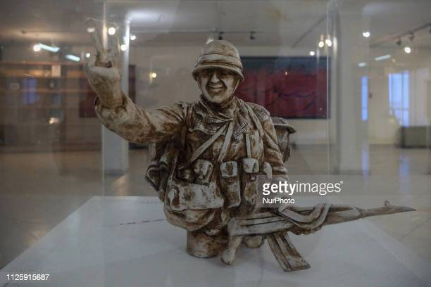 Picture taken on February 18, 2019 shows The Martyrs' Museum in Tehran, Iran. The Central Martyrs Museum in Tehran is the largest cultural repository...