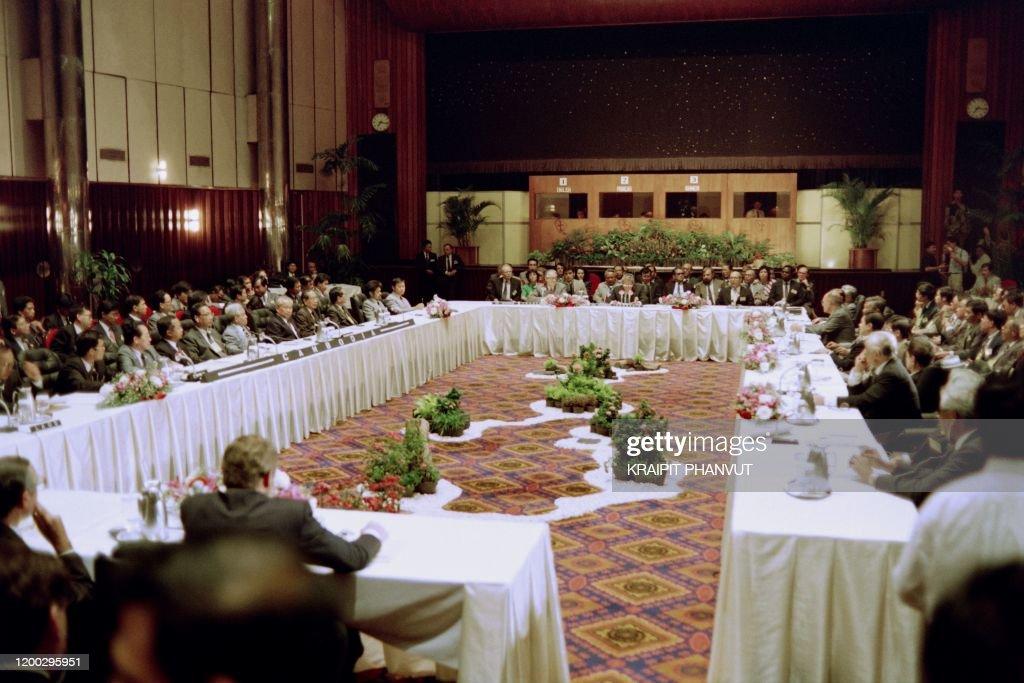 INDONESIA-CAMBODIAN WAR-PEACE TALKS : News Photo