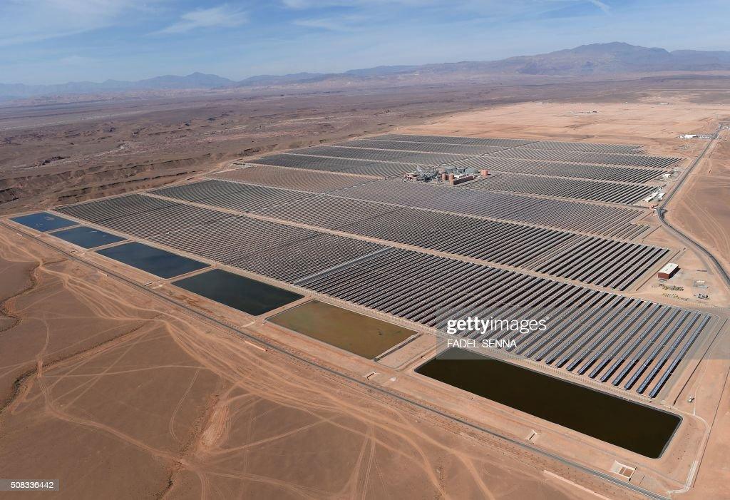 MOROCCO-SOLAR-ENERGY-NOOR : News Photo