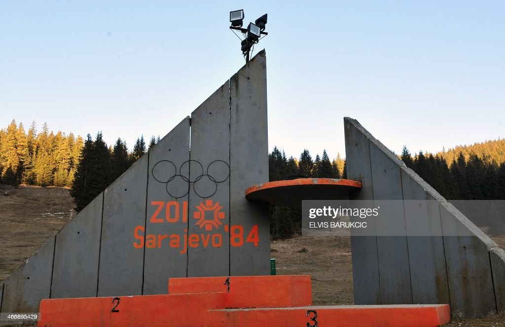 OLYMPICS-2014-BOSNIA-RUSSIA-SOCIAL : News Photo