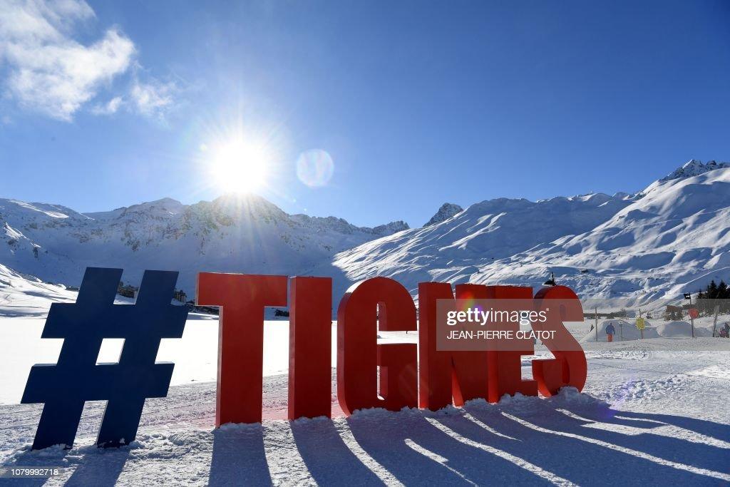 FRANCE-WEATHER-SNOW-FEATURE : Nachrichtenfoto