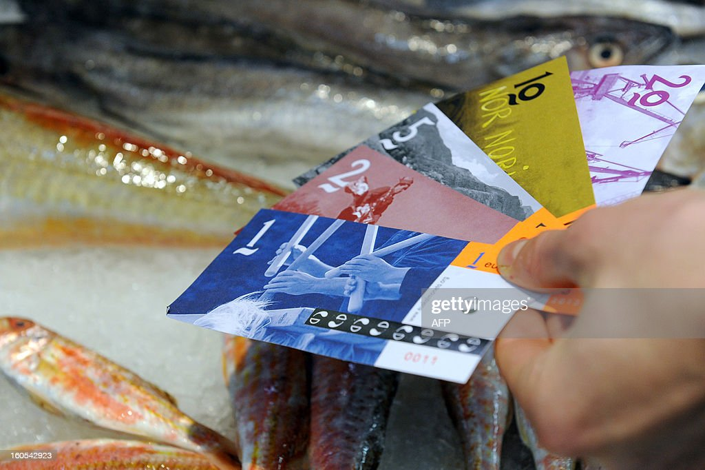 FRANCE-BASQUE-CURRENCY-FEATURE : News Photo