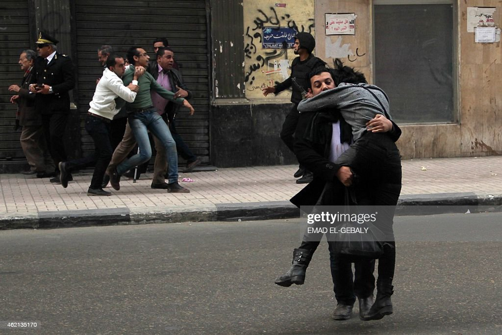 EGYPT-UNREST-DEMO-CLASHES : News Photo