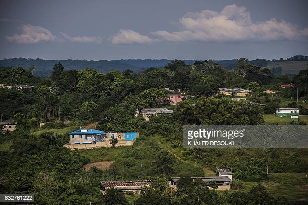 A picture taken on January 26 shows a general view of Franceville during the 2017 Africa Cup of Nations in Gabon / AFP / KHALED DESOUKI