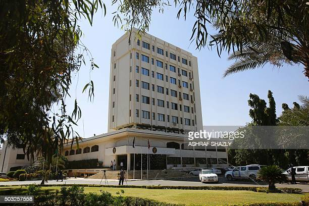 A picture taken on January 3 shows the Sudanese ministry of foreign affairs in the capital Khartoum AFP PHOTO/ ASHRAF SHAZLY / AFP / ASHRAF SHAZLY