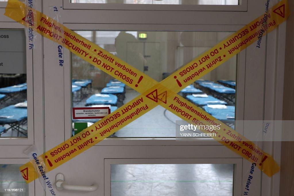 GERMANY-CHINA-HEALTH-VIRUS-DIPLOMACY : News Photo