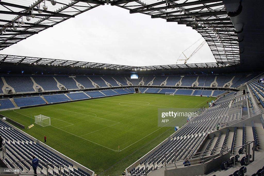 FBL-FRA-STADIUM-LE HAVRE-OPENING : News Photo