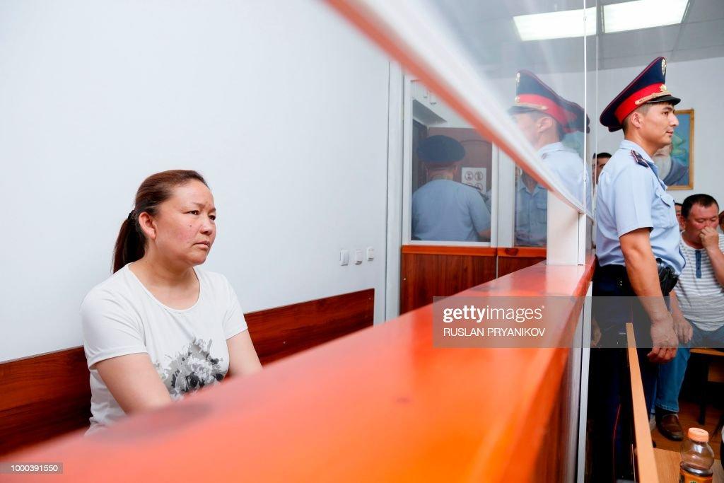 KAZAKHSTAN-CHINA-CRIME-DIPLOMACY : News Photo