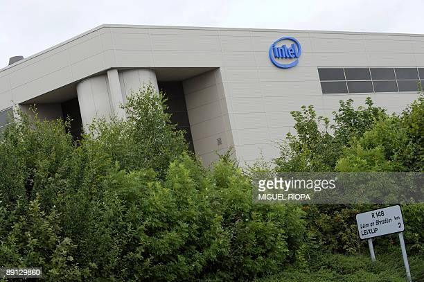 A picture taken on July 19 2009 shows Intel factory of Leixlip some 20 km from Dublin US tech giant Intel has announced that it will cut almost 300...