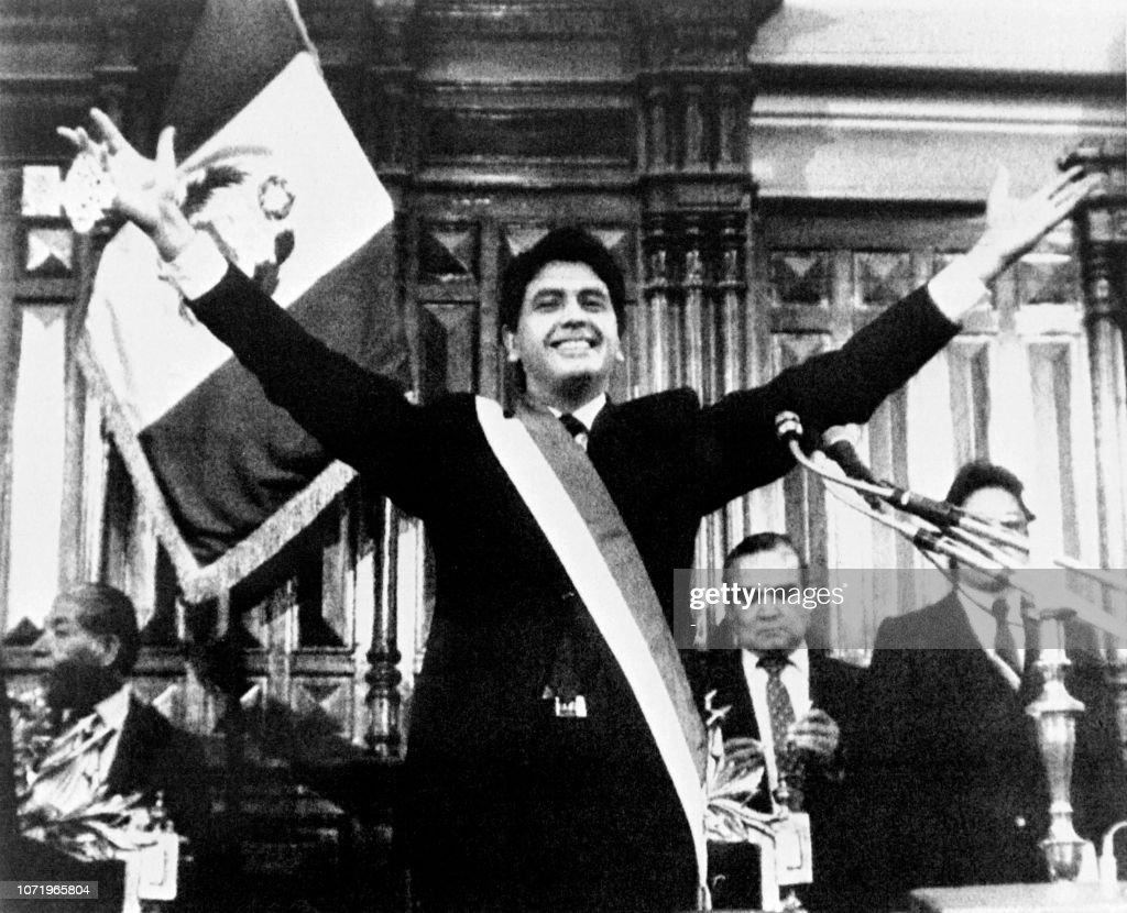 PERU-POLITICS-GARCIA : News Photo