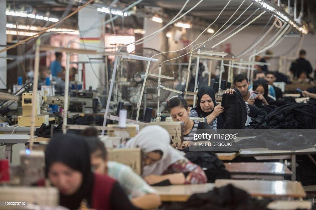 EGYPT-COTTON-ECONOMY : News Photo