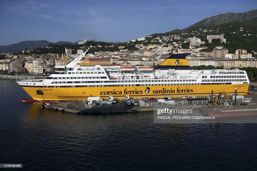 FRANCE-CORSICA-HEALTH-VIRUS-TRANSPORT : News Photo