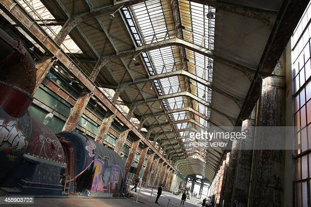 A picture taken on June 11 2009 in SaintDenis outside Paris shows the former power station that will house French producer and director Luc Besson's...