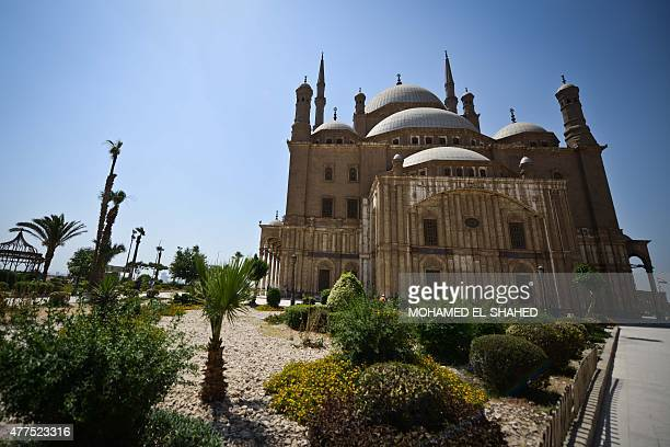 A picture taken on June 17 shows the Mohammed Ali mosque inside the Salaheddine Citadel in the Egyptian capital Cairo AFP PHOTO / MOHAMED ELSHAHED