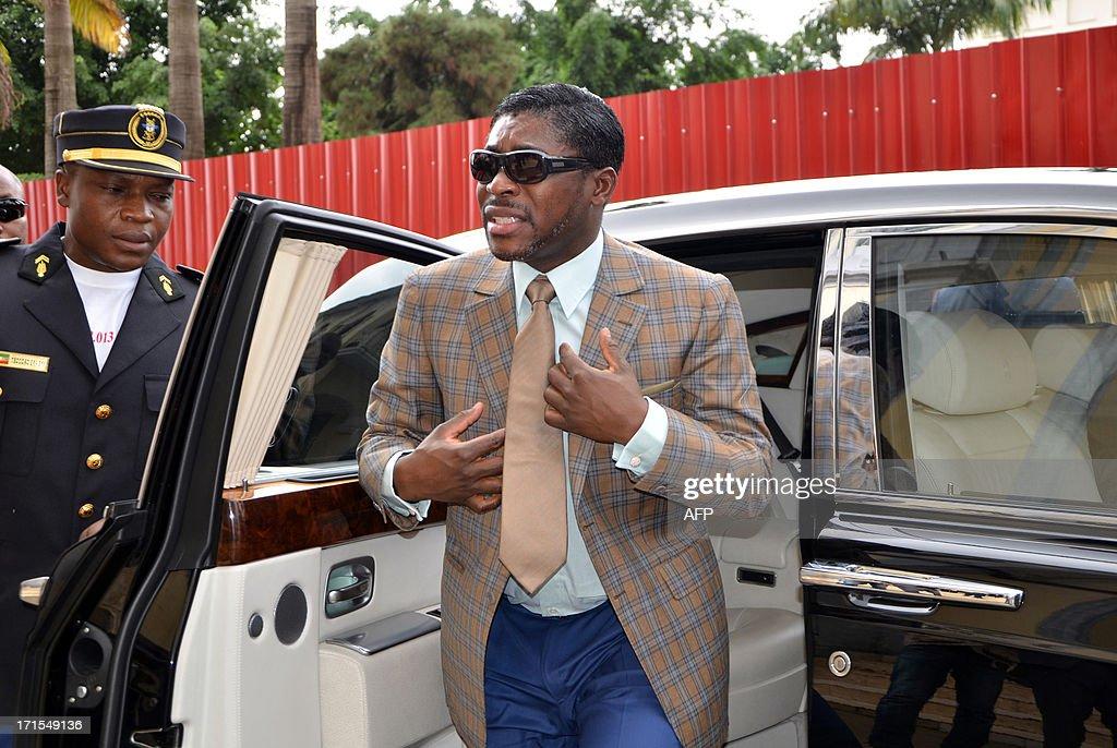 EGUINEA-POLITICS-GOVERNMENT-TEODORIN-BIRTHDAY : News Photo