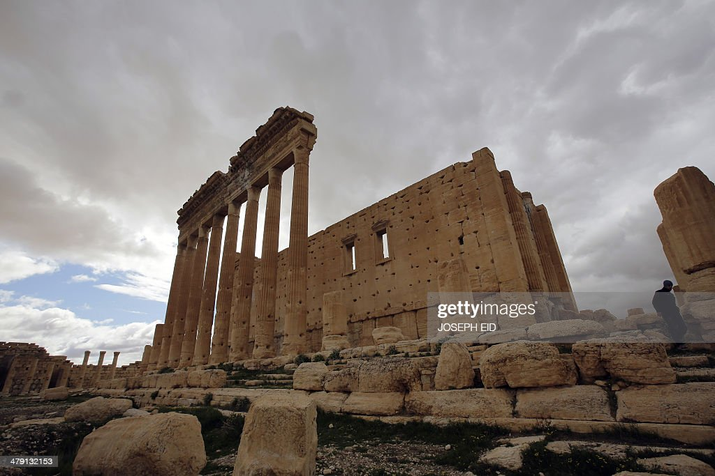 SYRIA-CONFLICT-ARCHAEOLOGY-PALMYRA : News Photo
