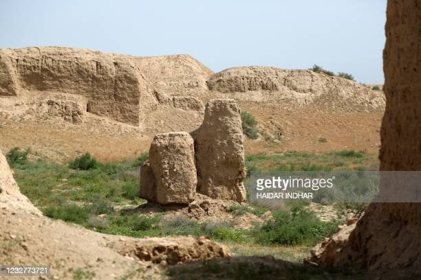 Picture taken on March 17 shows a view of the ancient Sumerian city of Nippur, in the Diwaniya governorate in southern Iraq. - Nippur, the jewel of...