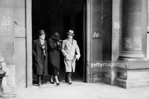 Picture taken on March 1934 in Paris of Arlette Stavisky widow of Alexandre Stavisky Arlette Stavisky was cleared in France of charges growing out of...