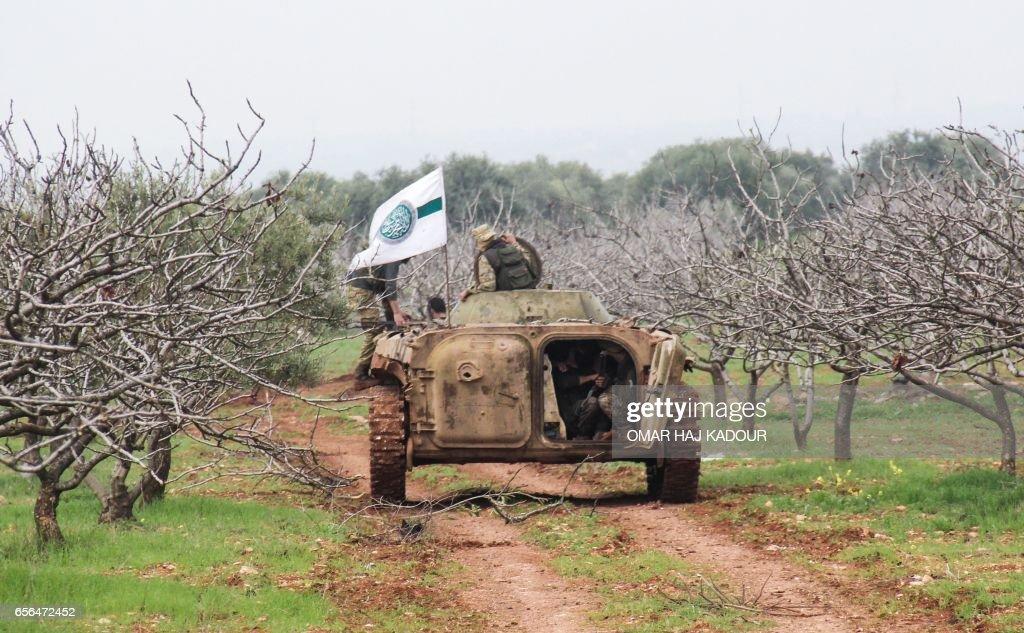 SYRIA-CONFLICT-HAMA : News Photo