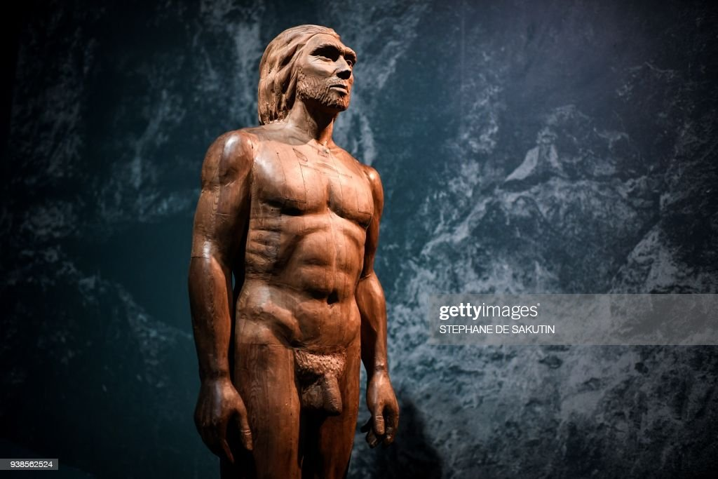 DOUNIAMAG-FRANCE-SCIENCE-NEANDERTHAL-ART-MUSEUM : News Photo