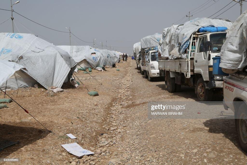 IRAQ-CONFLICT-HAWIJA-POLITICS : Foto jornalística